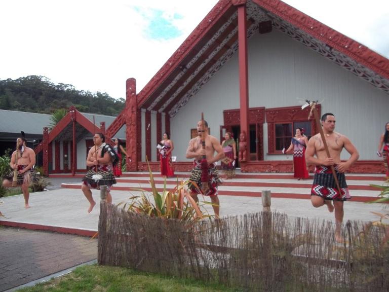 The Maori welcome dance